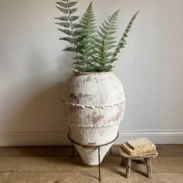 Large Antique Mediterranean Urn Francesco
