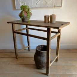 Small Rustic Antique Console Table | Jasmin