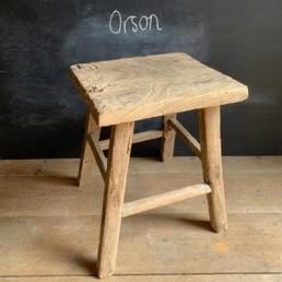 Large Elm Side Table Orson