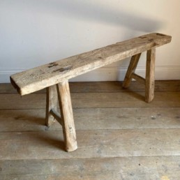 Antique Rustic Wooden Bench | Lara 119cm
