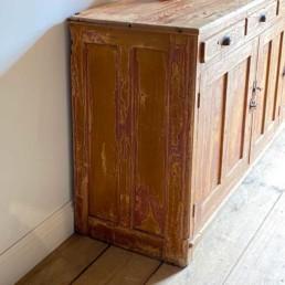 Antique Pine Side Board 3 Door | Roland