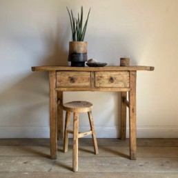 Antique small console table with Drawers | Otis