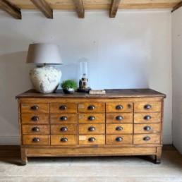 Antique Haberdashery Drawers | Percival