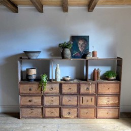 Antique French Hardware Drawers | Roman