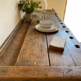 Antique Workbench With Vice | Ralph