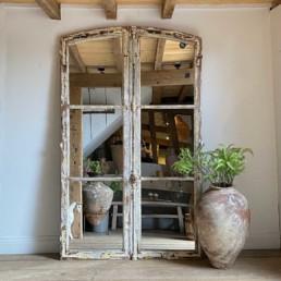 Antique French Door Mirror | Abel
