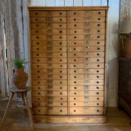 Antique Bank of Drawers | Oxford university