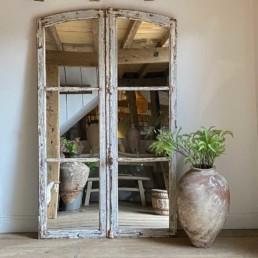 Antique French Door Mirror | Macarius