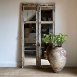 Antique French Door Mirror | Marcian