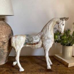 Hand Carved Vintage Horse Model | Samual