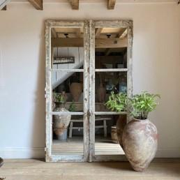Antique French Door Mirror | Atticus