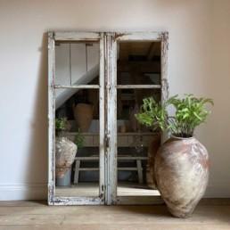 Antique French Door Mirror | Hadrian