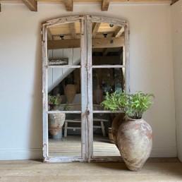 Antique French Door Mirror | Lucian