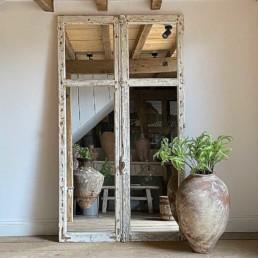 Antique French Door Mirror | Marcellus