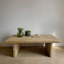 Rustic Reclaimed Wood St Ives Coffee Table
