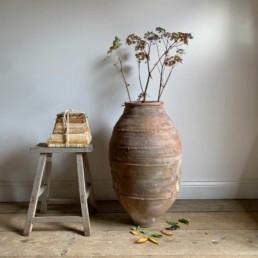 Antique Mediterranean Urn | Ailish