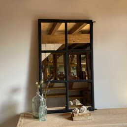 Vintage Reclaimed Crittal Window Mirror | Aldo