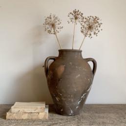 Antique Terracotta Small Urn | Alicia