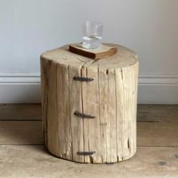 Tree Stump Side Table | Viva