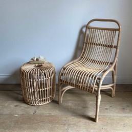 Hand Made Rattan Chair | Natural