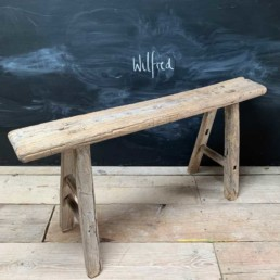 Antique Rustic Wooden Bench | Wilfred 103cm