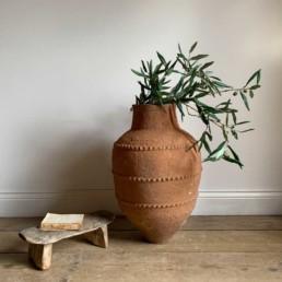 Antique Mediterranean Urn | Andrine