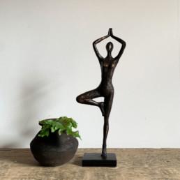 Bronze Style Statue Balerina