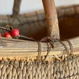 Antique Market Basket Large