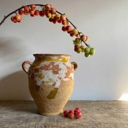 Antique French Confit Pot | Coralie