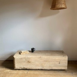 Solid Elm Beam Bench | Victor