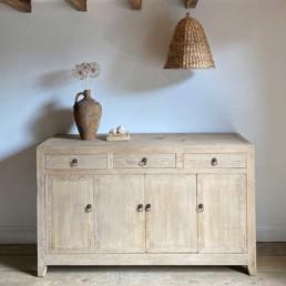 Pale Antique Pine Sideboard | Villiers