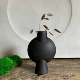 SPHERE ABSTRACT VASE SMALL