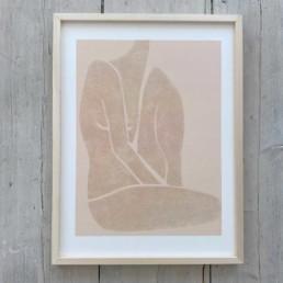 Female Nude Print   Amelie 50cm x 70cm