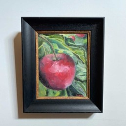 Original Oil Painting by Lizzie Owen | Little Apple Tree