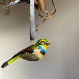Hand carved Painted Bird | Bee Eater