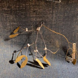 Brass Walther and Co Mistletoe Christmas Decoration