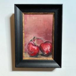 Original Oil Painting by Lizzie Owen   Cherries