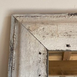 Rustic Reclaimed Barn Wood Mirror | Maire
