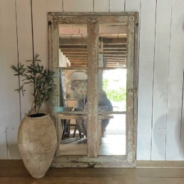 Reclaimed French Window Mirror | Monty