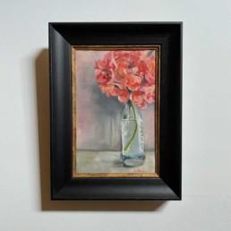 Original Oil Painting by Lizzie Owen | Hydrangea