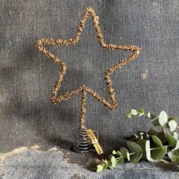 Beaded Star Tree Topper